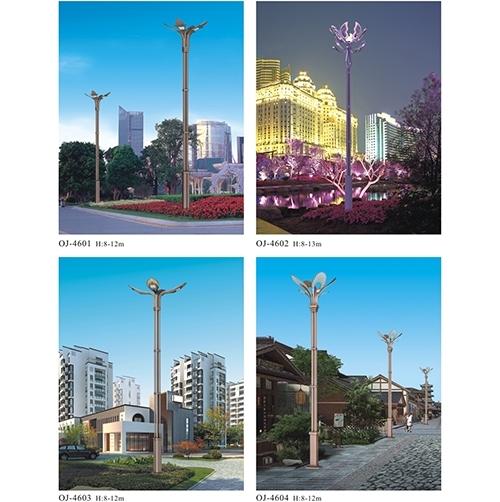 城市利用非标景观灯的照明工程表达重要意义