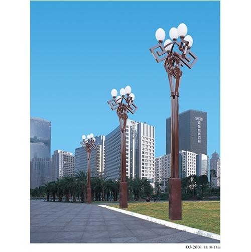 高杆路灯的安装设计需要考虑的因素