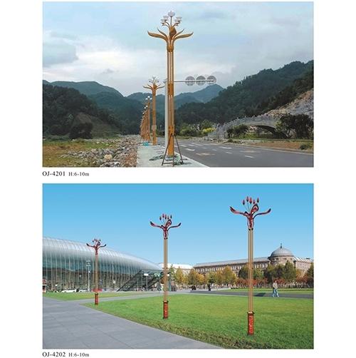 安装高杆路灯的安装需要我们注意的事项