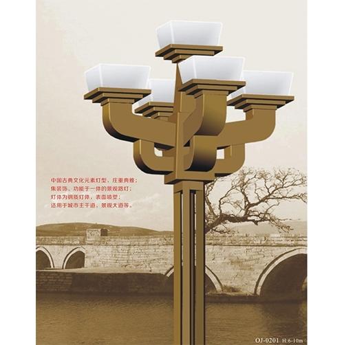 知道高杆路灯利用的是什么设计因素?