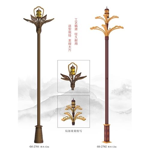 高杆路灯杆有哪些材质?