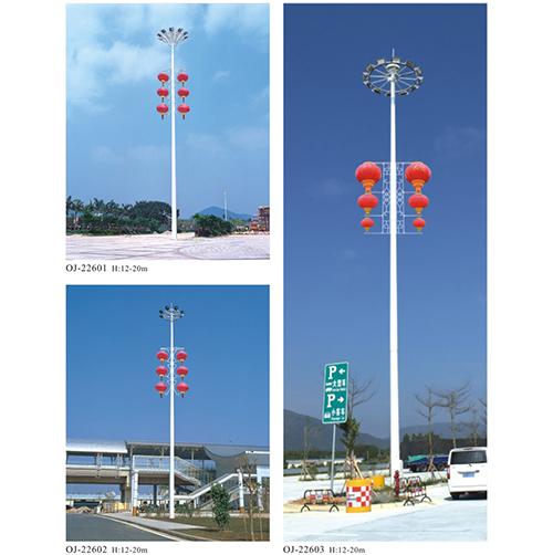 内蒙古大功率LED高杆灯