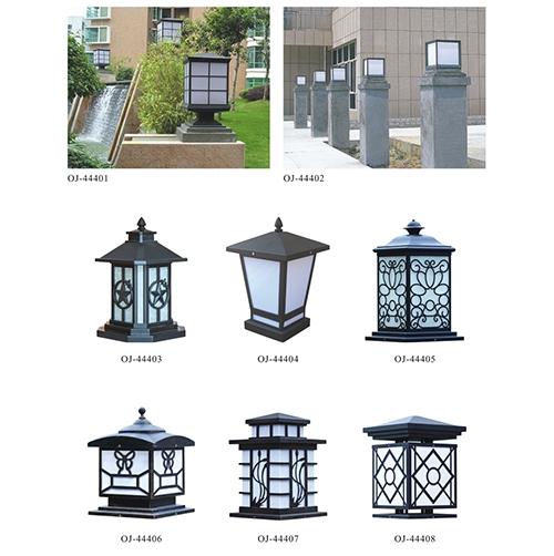 别墅柱头灯