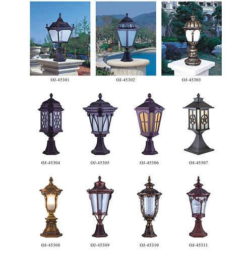 广西欧式柱头灯