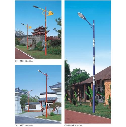古典建筑路灯