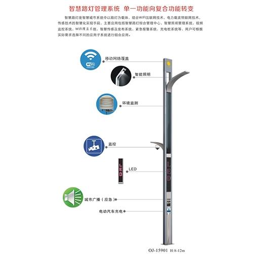 广西城市智慧路灯