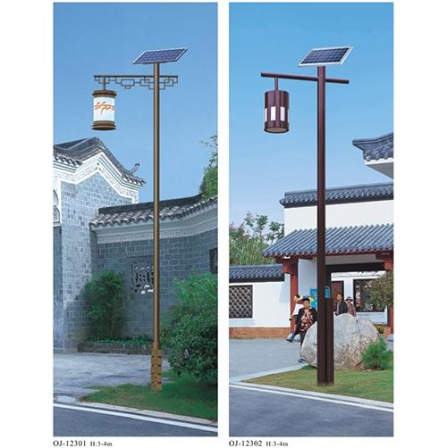 定制太阳能庭院灯
