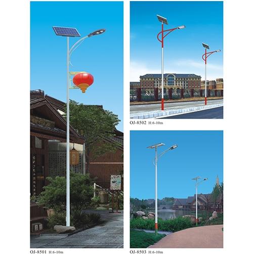 内蒙古太阳能一体化路灯