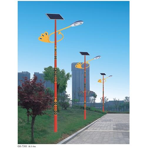 全套太阳能路灯